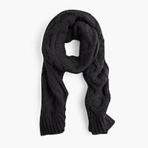 J.Crew NWT Loopy Stitch Oversized Cable-Knit Scarf